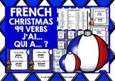 CHRISTMAS: FRENCH VERBS CHRISTMAS I HAVE WHO HAS