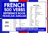 FRENCH VERBS REFERENCE FRENCH-ENGLISH 500 VERBS
