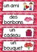 FRENCH Valentine's Day Activities, Vocabulary and Cards -