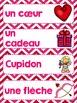 FRENCH {Valentine's day} Math and literacy Pack/ Activités de Saint-Valentin