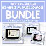 FRENCH Verb Games (-ER, -IR, -RE au passé composé) - Distance Learning