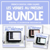 FRENCH Verb Games (-ER, -IR, -RE au présent) - Distance Learning