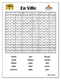 FRENCH - WORDSEARCH - En Ville ( In Town)