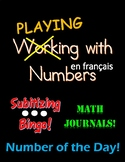 FRENCH WORKING WITH NUMBERS! PRINTABLE GAMES, ACTIVITIES, WORKSHEETS
