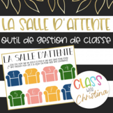 FRENCH Waiting Room Poster - Classroom Management Tool