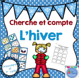 FRENCH Winter Count the room/ Cherche et compte (Hiver)