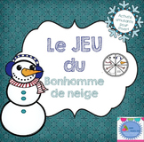 FRENCH {Winter} Snowman Game/ Jeu du Bonhomme de neige