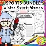 FRENCH Winter Sports and Games Bundle