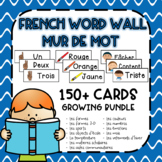 FRENCH Word Wall Cards