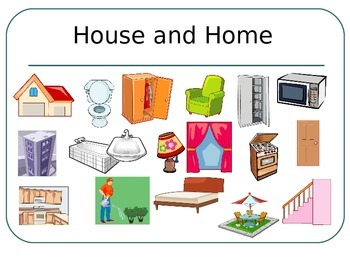 FRENCH - PPT - Flashcards - House and Home