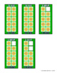 FRENCH and ENGLISH Build 10 Flowers Math Game Cards
