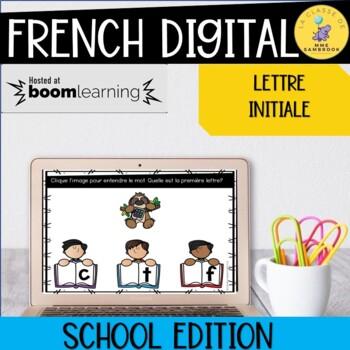 French Boom Cards I Dans Mon Sac Décole La Lettre Initiale