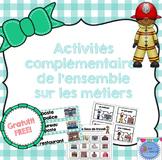 FRENCH community helper {Freebie}/ Ensemble complémentaire Les métiers