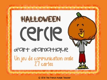 Jeu de communication orale : version Halloween