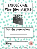 FRENCH oral communication - favorite movie / Exposé oral -