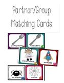FRENCH partner / group matching cards (les partenaires/les
