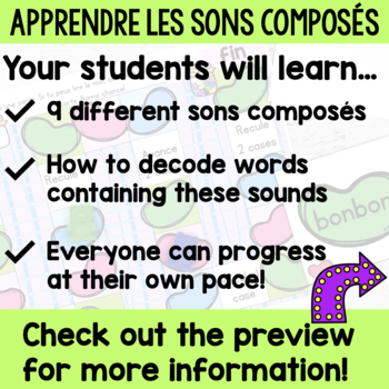 FRENCH phonics - Apprendre les sons composés