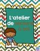 FRENCH read to self center / Centre lecture à soi