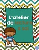 FRENCH read to self center / Centre lecture à soi