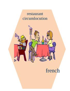 FRENCH restaurant circumlocution