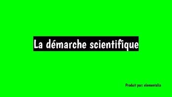 FRENCH scientific method DÉMARCHE SCIENTIFIQUE