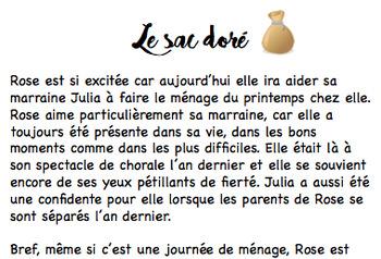 FRENCH spring writing kit / Ensemble d'écriture printemps
