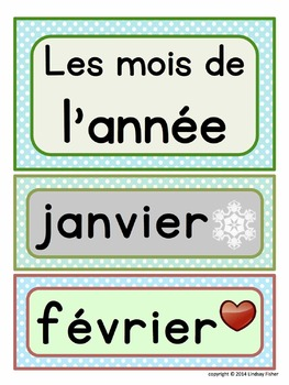 FRENCH word walls - Basics for Beginners