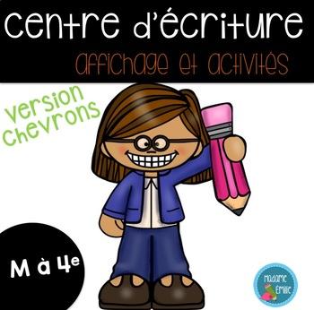 FRENCH writing center/ Centre d'écriture Affiches et outils