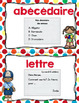 FRENCH writing center {polka dots}/ Centre d'écriture {Pet