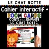 Cahier interactif + Quiz iBook + Histoire audio (Le Chat botté)