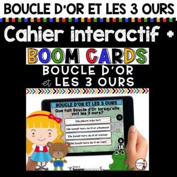 Cahier interactif + Quiz iBook + histoire audio (Boucle d'Or)