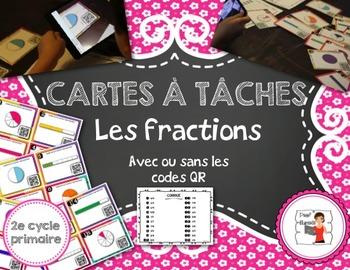 Cartes à tâches (task card)/les fractions