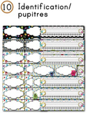 FRENCH/Classroom decor pack/Les monstres (identification pupitres)