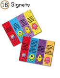 FRENCH/Classroom decor pack/Les monstres (les signets)