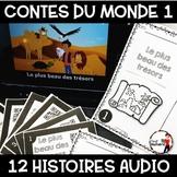 Histoires Audio avec Codes QR IPAD /Les contes du monde (Série 1)