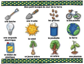 Jour de la Terre/Mots de vocabulaire (24 affiches)