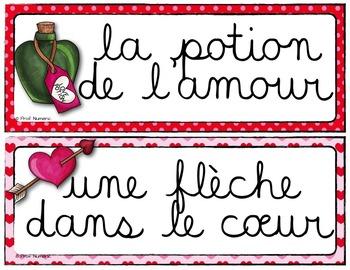 Mots de vocabulaire/Saint-Valentin/24 affiches