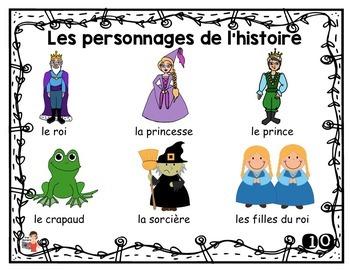Littérature jeunesse/3 activités interactives/La princesse et le crapaud
