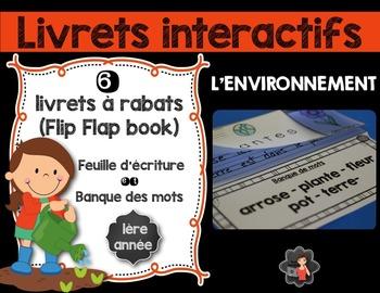 Livrets interactifs {Flip Flap Book}/L'environnement