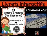 Jour de la Terre - Livrets interactifs {Flip Flap Book}/L'environnement