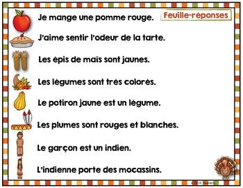 FRENCH/Phrase-image de l'Action de Grâce {FREEBIE}
