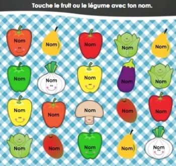 TNI et les présences Fruits et Légumes (Alimentation et nutrition)