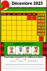 TNI- Calendrier TNI interactif DÉCEMBRE (SmartBoard)