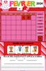 TNI- Calendrier TNI interactif FÉVRIER (SmartBoard)