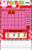 TNI - Calendrier TNI interactif FÉVRIER (SmartBoard)
