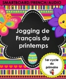 FRENCH/SMARTBOARD/Jogging de Français du printemps