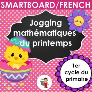 Printemps - SMARTBOARD/Jogging mathématiques d'avril