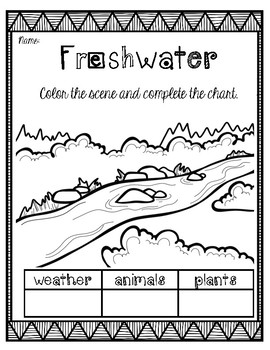 FRESHWATER Research/Report Project Booklet