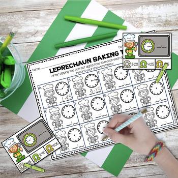 FRIDAY FREEBIE--Leprechaun Baking Time to 5 Minutes