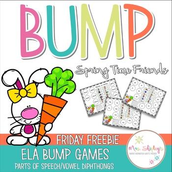 FRIDAY FREEBIE— SpringTime Friends ELA BUMP GAMES